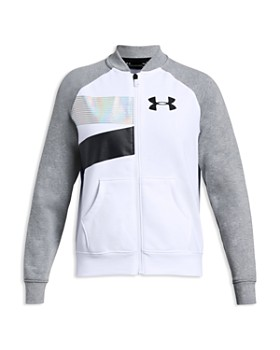 Under Armour - Girls' Rival Bomber Jacket - Big Kid