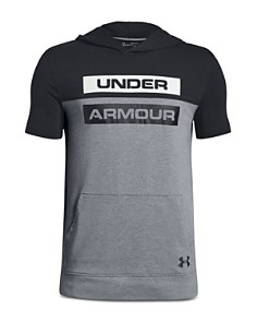 Under Armour - Boys' Hooded Performance Shirt - Big Kid
