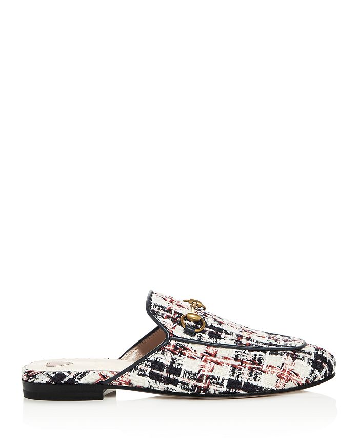 2b0a1f10404 Gucci - Women s Princetown Tweed Mules