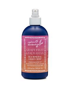 Captain Blankenship - Grapefruit & Palmarosa Sea Mineral Liquid Soap