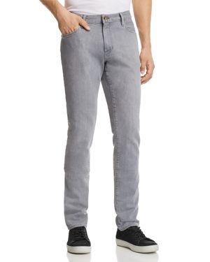 Double Eleven Slim Fit Jeans In Kurabo in Light Gray