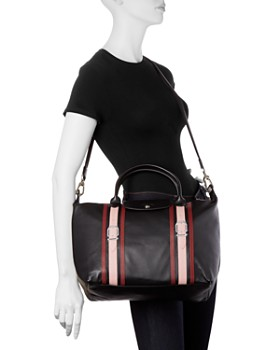 Longchamp - Le Pliage Cuir Bride Medium Leather Tote