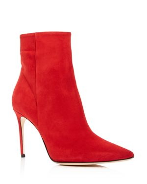 WOMEN'S VIDA SUEDE HIGH-HEEL BOOTIES