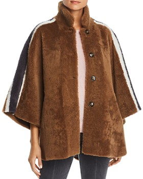 Maximilian Furs - Reversible Lamb Shearling Cape - 100% Exclusive