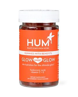 HUM Nutrition - Glow Sweet Glow Gummies - Vegan Hyaluronic Acid Supplement for Skin Hydration