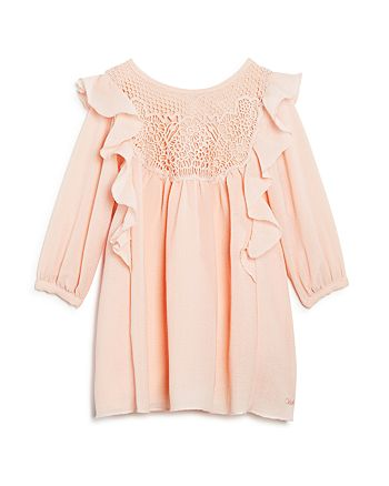 Chloé - Girls' Mini Me Couture Ruffled Dress - Baby