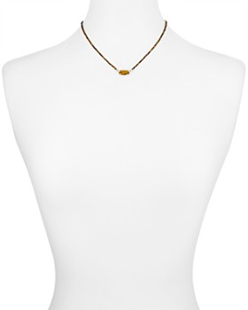 Kendra Scott - Elisa Faceted Stone Pendant Necklace, 16""