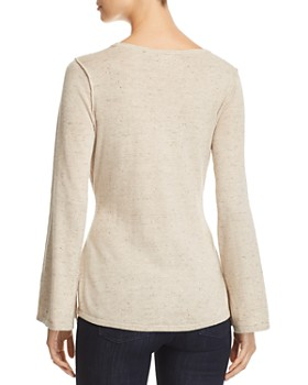 Heather B - Belted Sweater
