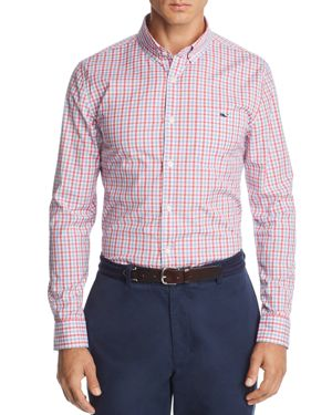 Vineyard Vines Tucker Plaid Slim Fit Button-Down Shirt