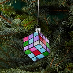 Bloomingdale's Magic Puzzle Glass Ornament - 100% Exclusive_0