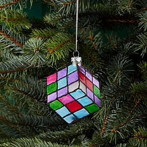 Bloomingdale's Magic Puzzle Glass Ornament - 100% Exclusive