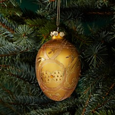 Bloomingdale's Glass Egg Ornament - 100% Exclusive_0