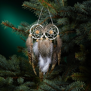 Bloomingdale's Owl Dream Catcher Ornament - 100% Exclusive