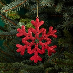 Bloomingdale's Glitter Snowflake Ornament - 100% Exclusive_0