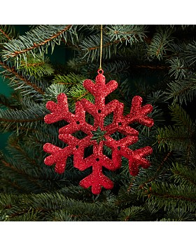 Bloomingdale's - Glitter Snowflake Ornament - 100% Exclusive