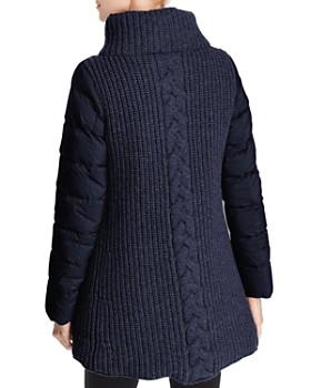 Herno - Mixed Media A-Shape Coat