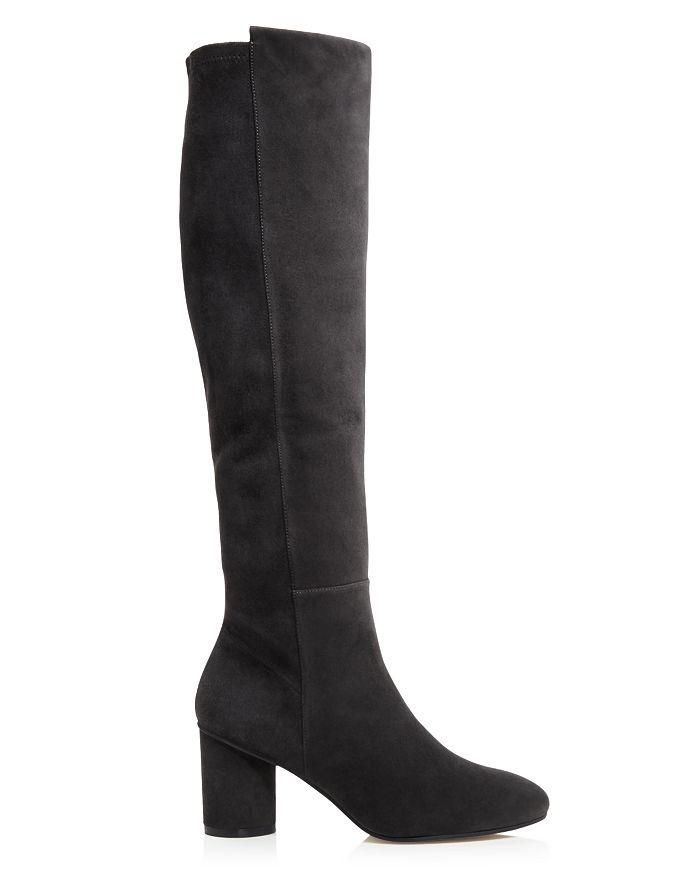 a6d11726f24 Stuart Weitzman Women s Eloise 75 Almond Toe Suede Boots ...
