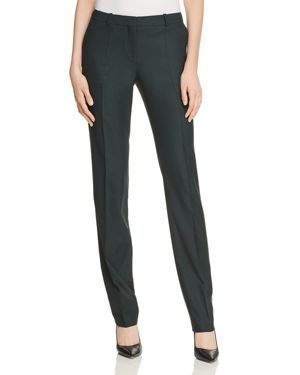 Boss Titana Optic Straight-Leg Pants