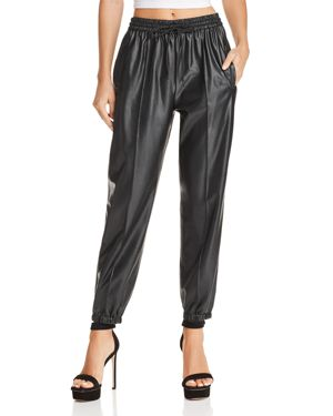 BLANKNYC FAUX LEATHER JOGGER PANTS - 100% EXCLUSIVE
