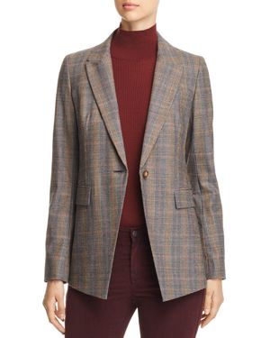 HEATHER GLEN PLAID BLAZER