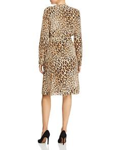 FRAME - Sgt. Pepper Leopard Print Silk Dress