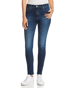 AG - Farrah Ankle Skinny Jeans in 4 Years Deep Willow ... c7f9bd5cbae