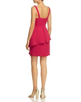 BCBGMAXAZRIA - Strap-Detail Crepe Dress