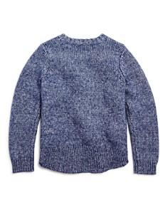 Design History - Girls' Pom-Pom Sweater - Little Kid