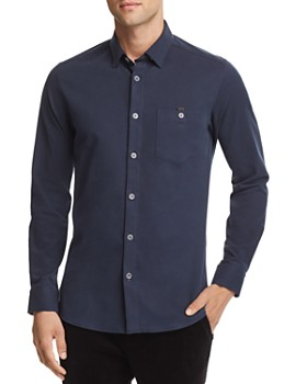 Ted Baker - Bloosh Shacket Regular Fit Button-Down Shirt - 100% Exclusive