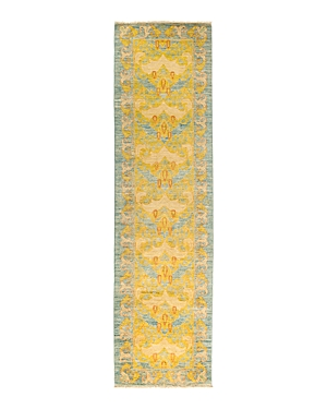 Solo Rugs Eclectic Hand-Knotted Runner Rug, 2'6 x 9'10