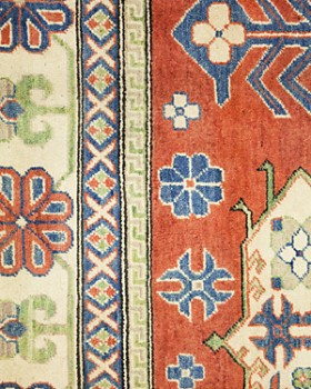 """Solo Rugs - Kazak 12 Hand Knotted Area Rug, 8' x 9' 9"""""""