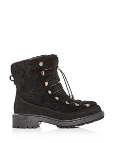 Aquatalia - Women's Lorena Weatherproof Shearling Lace Up Booties