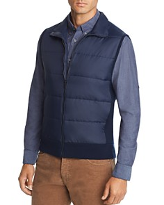 The Men's Store at Bloomingdale's - Mixed-Media Vest - 100% Exclusive
