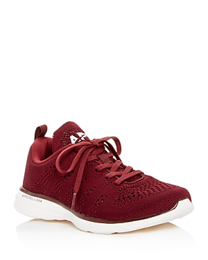 Apl Athletic Propulsion Labs WOMEN'S TECHLOOM PRO KNIT LACE-UP SNEAKERS