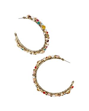 Baublebar Avie Drop Hoop Earrings