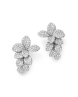 Pasquale Bruni - 18K White Gold Stelle in Fiore Diamond Earrings