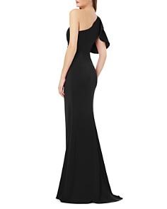 Carmen Marc Valvo - One-Shoulder Gown
