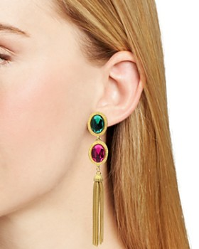 Ben Amun - Multi Color Clip-On Earrings