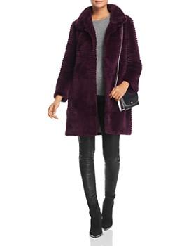 Maximilian Furs - Sheared Beaver Fur Coat - 100% Exclusive