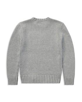 Ralph Lauren - Boys' Intarsia Flag Sweater - Big Kid