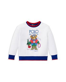 Ralph Lauren - Boys' Rock-Climbing Polo Bear Sweatshirt - Little Kid