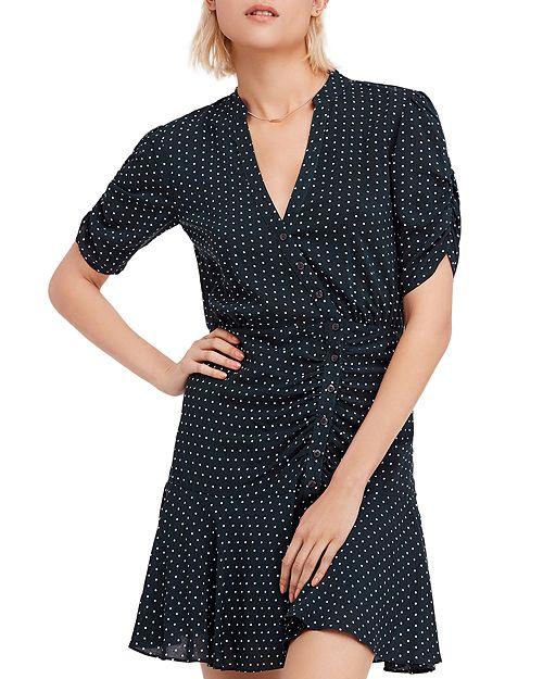 Free People - Pippa Polka-Dot Mini Dress