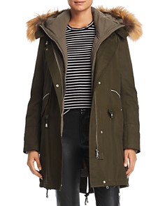 Maximilian Furs - Fox Fur Trim 3-in-1 Down Parka - 100% Exclusive