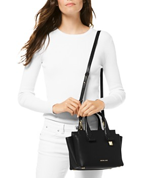MICHAEL Michael Kors - Rollins Small Leather Crossbody Satchel