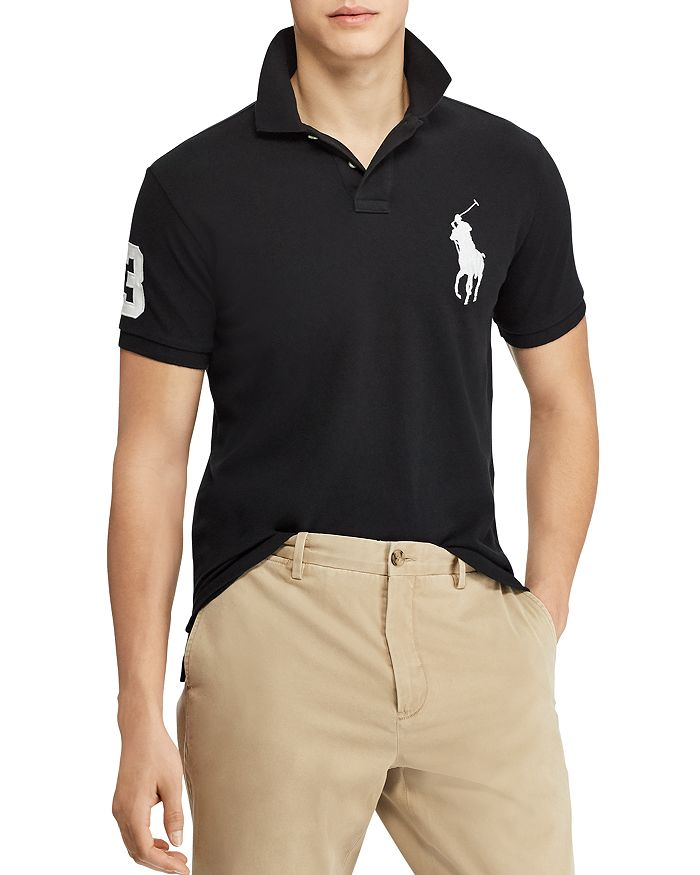 a6a5c6ed Polo Ralph Lauren Custom Slim Fit Mesh Polo Shirt | Bloomingdale's