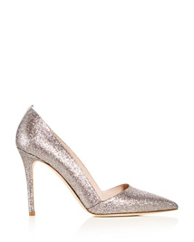 SJP by Sarah Jessica Parker - Women's Rampling Glitter Pointed Toe Pumps - 100% Exclusive