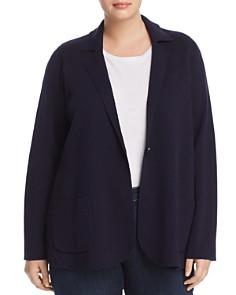 Eileen Fisher Plus - Wool Knit Blazer