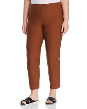 Eileen Fisher Plus - Slim Ankle Pants
