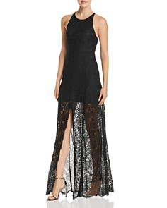 Fame and Partners - The Patsy Lace Illusion Gown