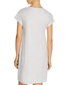 Hanro - Elara Single Silk Stripe Cap Sleeve Gown